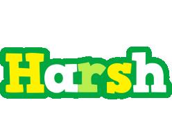 Harsh soccer logo