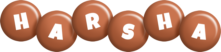 Harsha candy-brown logo