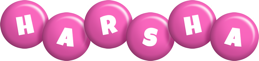 Harsha candy-pink logo