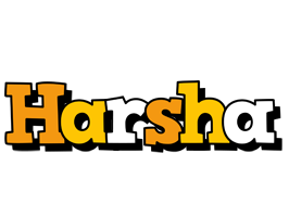 Harsha cartoon logo