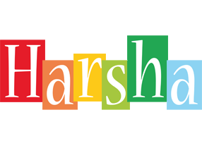 Harsha colors logo
