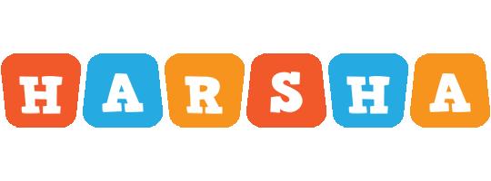 Harsha comics logo