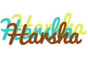 Harsha cupcake logo