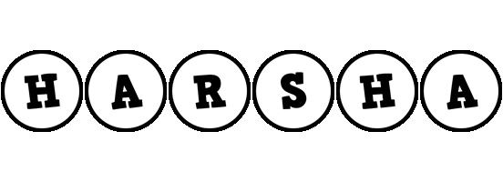 Harsha handy logo