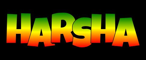 Harsha mango logo