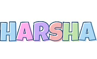 Harsha pastel logo