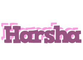 Harsha relaxing logo