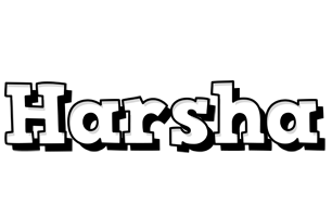 Harsha snowing logo