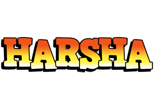 Harsha sunset logo