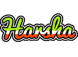 Harsha superfun logo