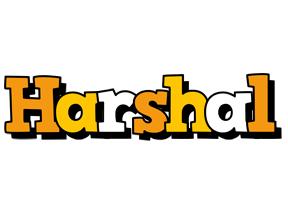 Harshal cartoon logo