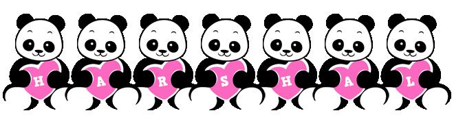 Harshal love-panda logo