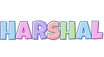 Harshal pastel logo
