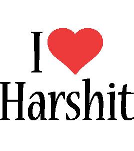 Harshit i-love logo