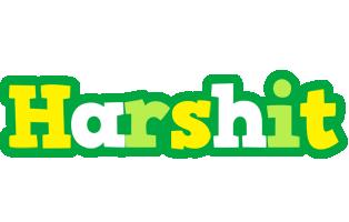 Harshit soccer logo