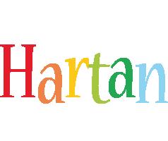 Hartan birthday logo