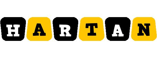 Hartan boots logo
