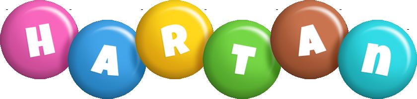 Hartan candy logo