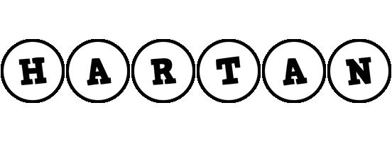 Hartan handy logo