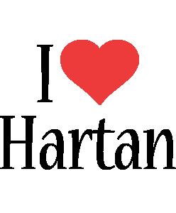Hartan i-love logo