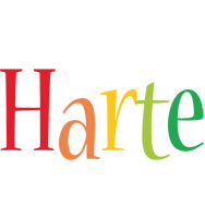 Harte birthday logo