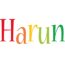 Harun birthday logo
