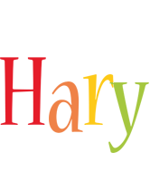 Hary birthday logo