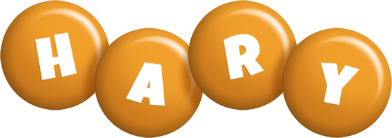 Hary candy-orange logo