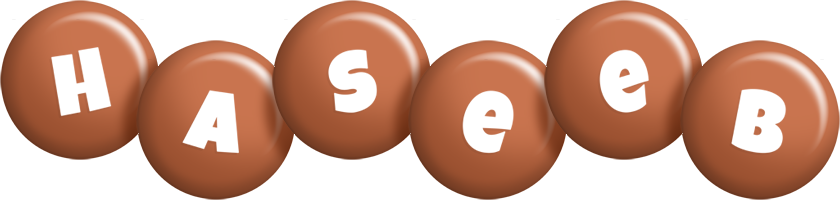 Haseeb candy-brown logo