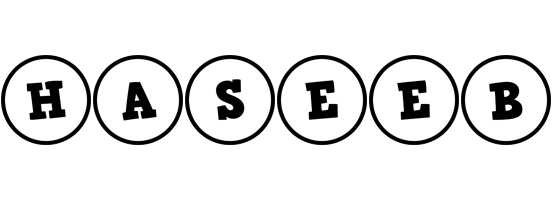 Haseeb handy logo