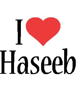 Haseeb i-love logo