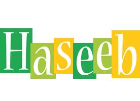 Haseeb lemonade logo