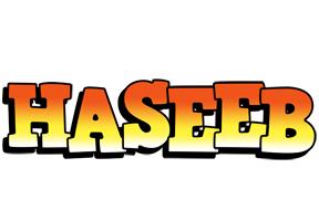 Haseeb sunset logo