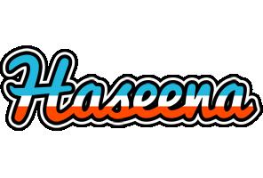 Haseena america logo