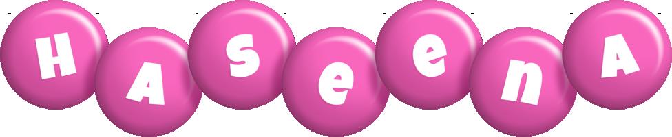 Haseena candy-pink logo