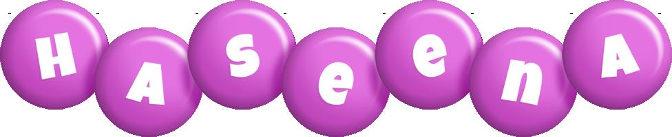 Haseena candy-purple logo