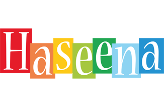 Haseena colors logo