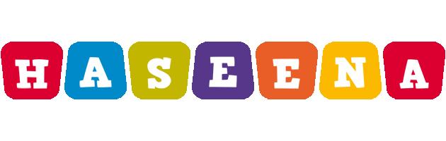 Haseena daycare logo