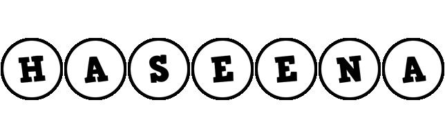 Haseena handy logo