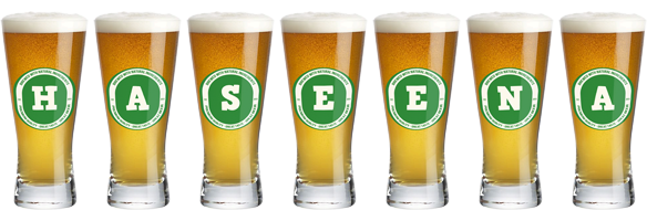 Haseena lager logo