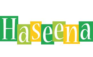 Haseena lemonade logo