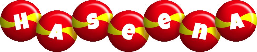 Haseena spain logo