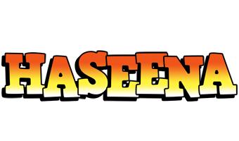 Haseena sunset logo