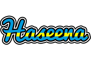 Haseena sweden logo