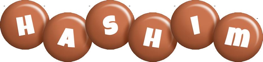 Hashim candy-brown logo
