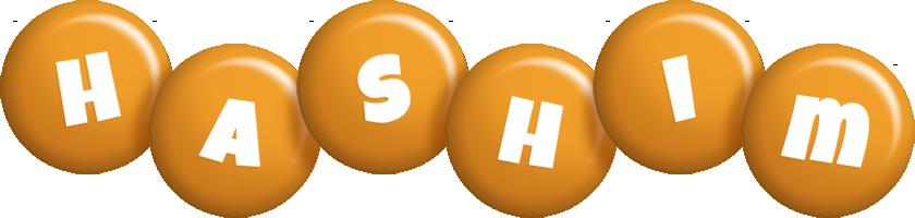 Hashim candy-orange logo