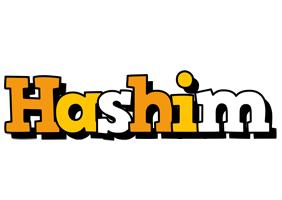 Hashim cartoon logo