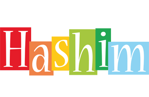 Hashim colors logo