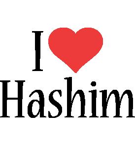 Hashim i-love logo