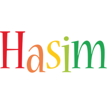 Hasim birthday logo